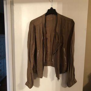 BlankNYC Light silky jacket